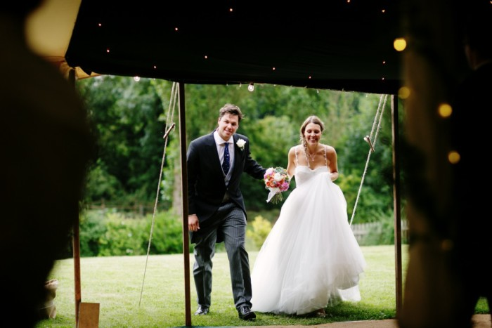 LAURA + MARK / SUMMER MARQUEE WEDDING